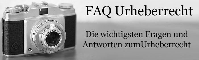 FAQ Urhberrecht