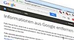 Google-Inhalte-entfernen