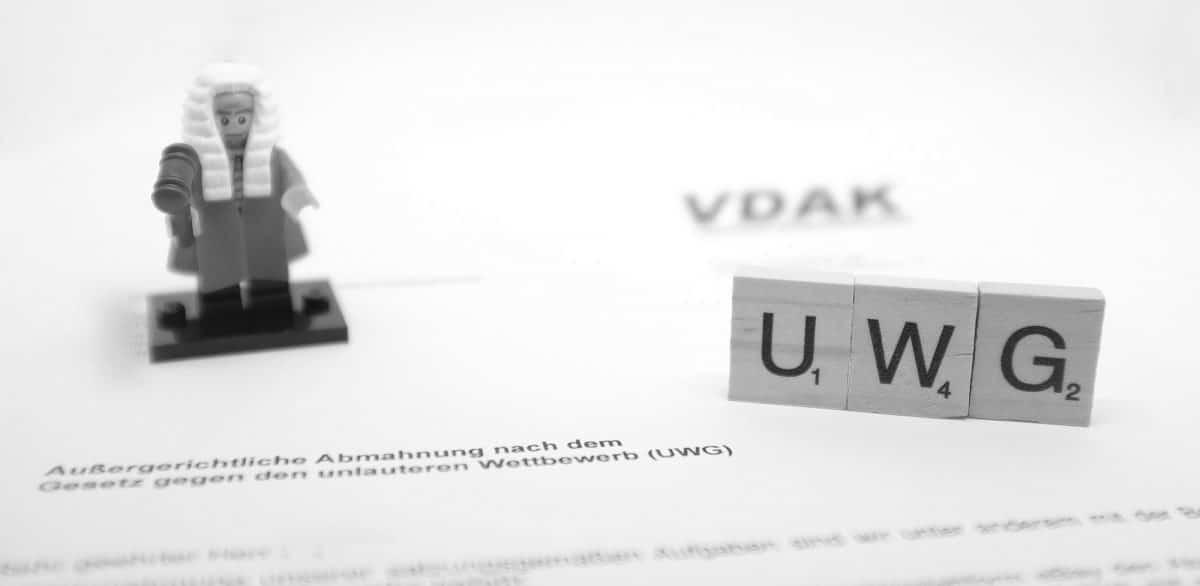 Abmahnung Verein Deutscher und ausländischer Kaufleute VDAK