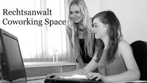 Rechtsanwalt und Coworking Space