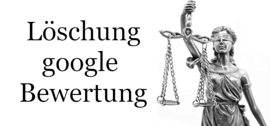 Löschung google