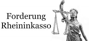 Mahnbrief von Rheininkasso