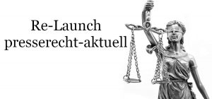 Re-Launch presserecht-aktuell.de