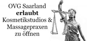 OVG Saarland Kosmetikstudios und Massagepraxen dürfen wieder öffnen