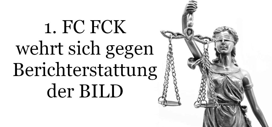 Berichterstattung Bild-Zeitung FCK