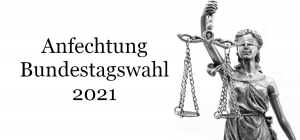 Anfechtung Bundestagswahl